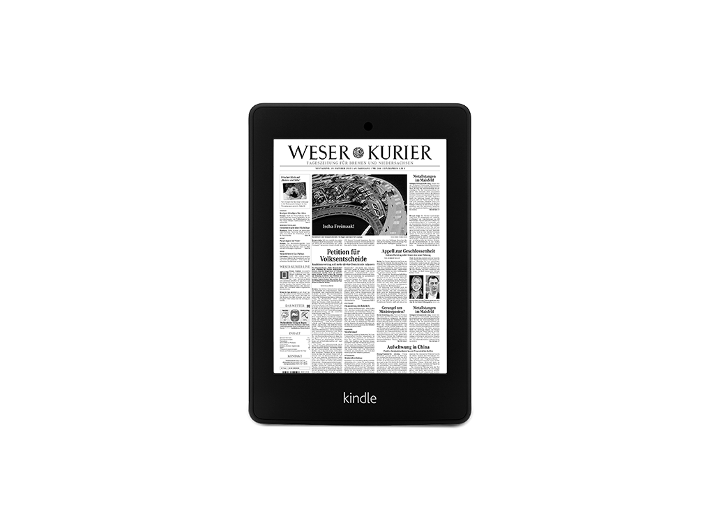 Digital-Paket + Kindle Paperwhite II