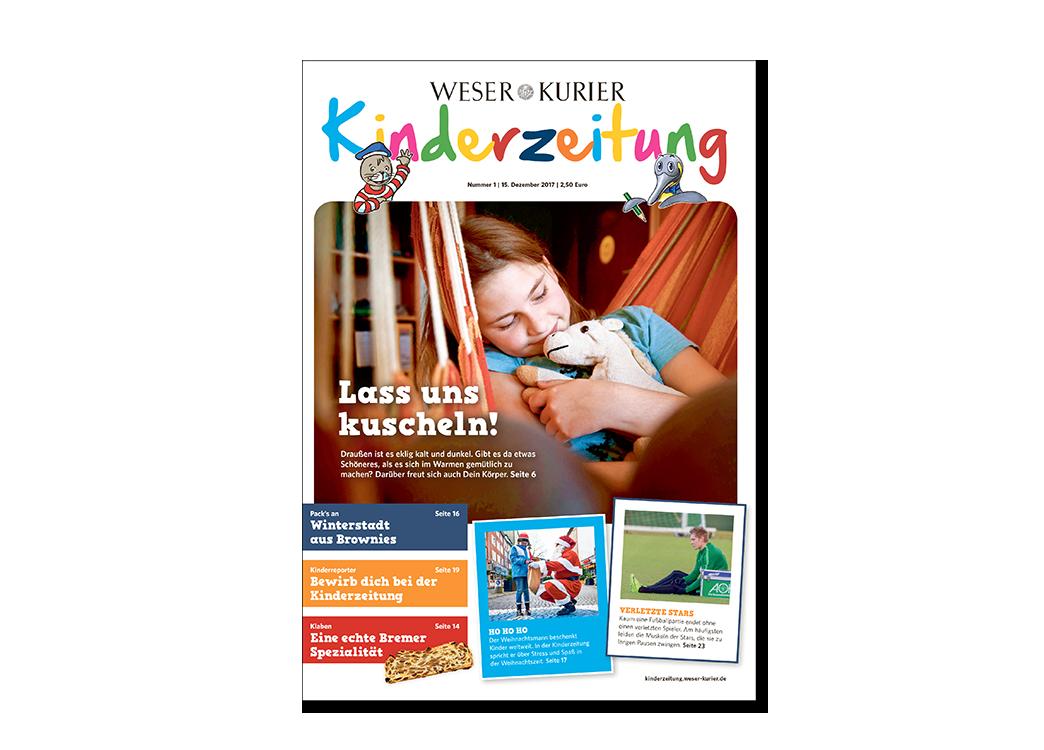 WESER-KURIER Kinderzeitung Weihnachtsangebot
