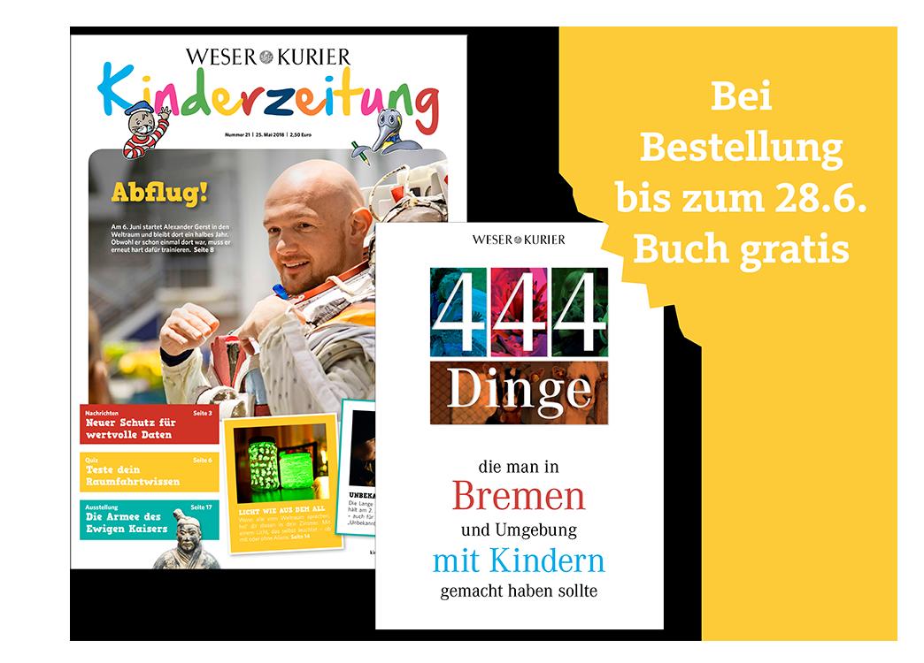 WESER-KURIER Kinderzeitung mit Buch